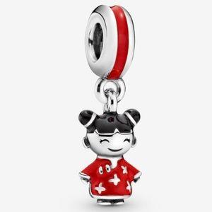 Pandora Chinese Doll Charm